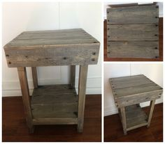 #CoffeeTable, #PalletTable, #RecycledPallet, #SideTable