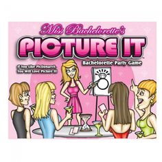 When planning your next bachelorette party, make sure and not to forget some fun games, and this Miss Bachelorette's Picture It Game always makes for a fun evening and with a few drinks, well it is even more fun! Hens Night Games, Game Night, Hens Party Supplies, Hen Party Games, Budget, Bachelorette Party Games, Night Couple, Bridal Shower Games, Love Pictures