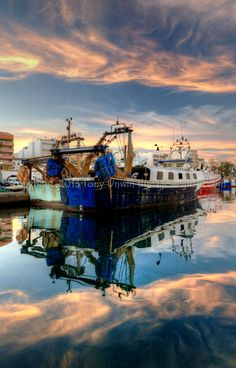 Garrucha Harbour, Almeria, Spain