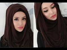 Make your face look slimmer hijab style  www.fatihasworld.com - YouTube
