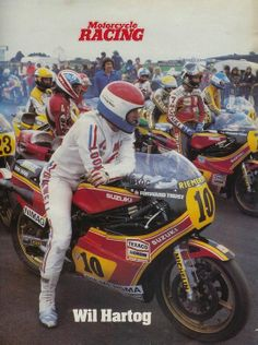 Wil Hartog - Neerlands trots. 500 cc tweetakt race motor