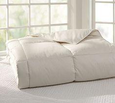 Natural Comforters #potterybarn