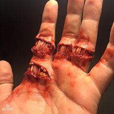 Exposed tendons- SFX Artist: Powdah FX, Australia