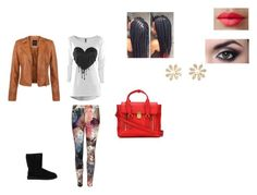 """""""Ootd#23 Wednesday"""" by ctennisbeau on Polyvore featuring Ted Baker, UGG Australia, LORAC and 3.1 Phillip Lim"""