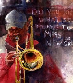 New Orleans Jazz  New Orleans Jazz is different than the jazz you may find in Chicago, Memphis.... It's all good but New Orleans has something deep, low down, and soulful. I love Louisiana.