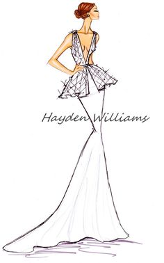 Hayden Williams Bridal Couture collection pt2