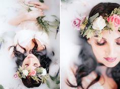 LoveHer Photography Milk Bath Shoot
