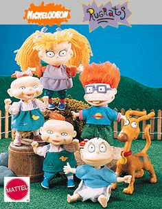 This Rugrats doll collection hits the nostalgia hard. Childhood Memories 90s, Childhood Movies, Barbie, 90s Nostalgia, My Children, Vintage Toys, 90s Nickelodeon, British History, 90s Kids