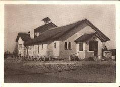 Het boerenbondsgebouw in Ommel werd verbouwd tot noodkerk Noodkerk van O.L.Vrouw van Ommel, omdat de kerk onherstelbaar was vernield als gevolg van de oorlog