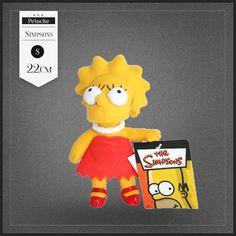 Peluche Lisa Simpson, la soeur de Bart