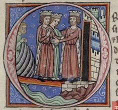 Joan of England, Queen of Sicily and her brother Richard Lionheart with Philip of France. She was the daughter of Henry II of England and Eleanor of Aquitaine. Wife to William II of Sicily and Raymond VII of Toulouse Princess Of England, Queen Of England, King Richard I, King Henry, Toulouse, Marguerite De Navarre, Winchester, Eleanor Of Aquitaine, Wilhelm Ii