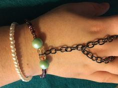A personal favorite from my Etsy shop https://www.etsy.com/listing/510519230/double-strand-multicolor-slave-bracelet