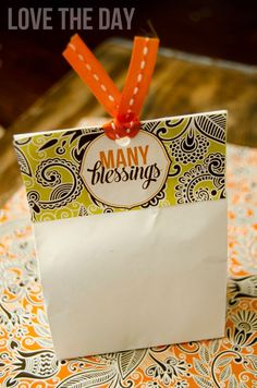 Give Thanks THANKSGIVING Printable Party by Love The Day