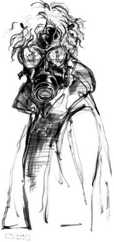 MGS5 The Phantom Pain Art - Yoji Shinkawa