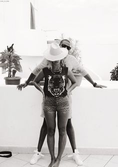 Bey n Jay So Black n White