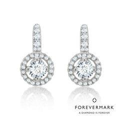 d650e54ed Forevermark Diamond Necklace in 18kt White Gold (7/8ct tw) | Forevermark |  Diamond, Gold, White gold