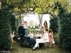 La Dolce Villa: Inside Roberto Cavalli's Opulent Florence Estate The Garden - Cavalli Home Tour