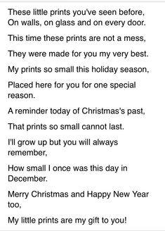 Christmas Handprint Poems | Christmas Handprint Poem http://m.voices.yahoo.com/christmas-hand ...