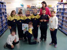 Escola El Garbí de Poboleda de visita: els grans!