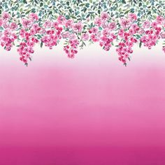 trailing rose - peony wallpaper | Designers Guild