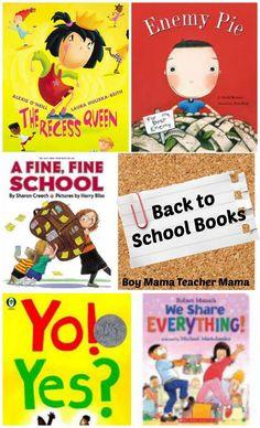 Boy Mama Teacher Mama | Back to School Books