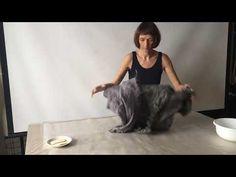(15) Felted jacket Валяный жакет из альпаки - YouTube