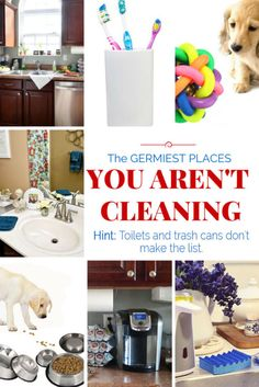 The germiest places