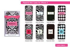 Just got the zebra print case with my name on it in green. Love it!!