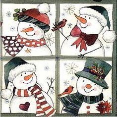 Χαρτοπετσέτες Χριστουγεννιάτικες 33x33 cm (95 σχέδια)
