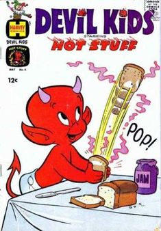 A cover gallery for the comic book Devil Kids Archie Comic Books, Archie Comics, Blondie Comic, Pop Up Toaster, Rolling Stones Logo, Devil Tattoo, Hippy Room, Felix The Cats, Comics Story