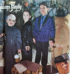 Addams Family Costume Sewing Pattern