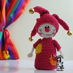 Crochet jester  pdf pattern by VendulkaM on Etsy, $4.80