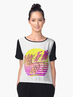 Back To The 80's, Tees For Women, Chiffon Tops, Tank Man, Woman, Unique, People, Mens Tops, Fashion