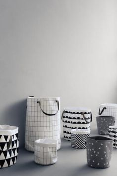 ferm LIVING - Grid Vasketøjskurv