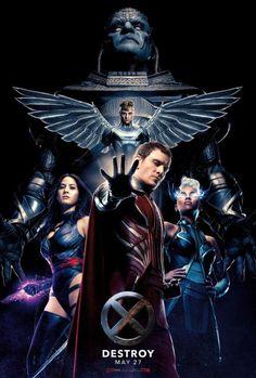 El Puffs - X-Men Apocalypse movie poster #Destroy #Xmen #movie