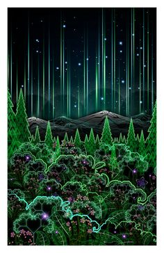 Biosynthebliss Print ~ Standard/Archival/Limited Edition // Officialy Licensed by Samuel Farrand