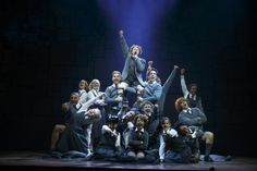 """Revolting Children"" – Evan Gray (Bruce) and The Company of 'Matilda The Musical' National Tour. Photo by Joan Marcus."