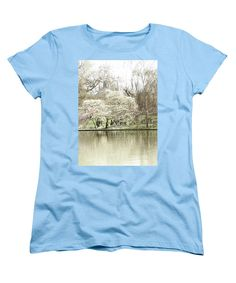 T-Shirt featuring the photograph St. James Park London by Judi Saunders. Available in many colors, styles and sizes.