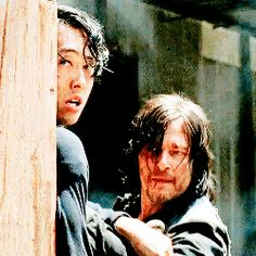 Glenn and Daryl (2)