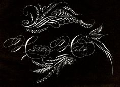 Heather Held Ink Flourishes: More Pen Work from the Spencerian Saga