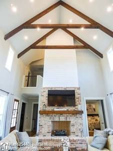 Modern Farmhouse Plan 62544DJ comes to life in Mississippi!