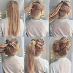 hair up for work \ hair updos . hair updos for medium hair . hair up . hair updos for long hair . hair up for work . hair updos for weddings Messy Bun Hairstyles, Trendy Hairstyles, Nurse Hairstyles, Hairstyles For Working Out, Easy Hairstyles Tutorials, Easy Work Hairstyles, Bun Tutorials, Homecoming Hairstyles, Beautiful Hairstyles