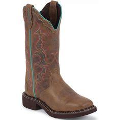 L2900 Women's Gypsy Western Justin Boots - Tan Jaguar www.bootbay.com