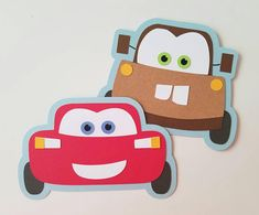Lightning McQueen and Mater Party Invitations - Pack of 10 Disney Cars Party, Disney Cars Birthday, Cars Birthday Parties, Lightning Mcqueen, Auto Party, Car Party, Vintage Jeep, Gaspard, Birthday Cards For Boys