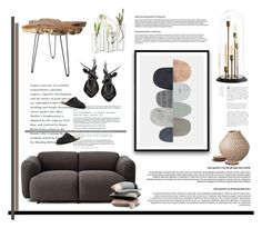 """""""Nordic inspired home"""" by krischigo ❤ liked on Polyvore featuring interior, interiors, interior design, home, home decor, interior decorating, Bloomingville, Normann Copenhagen, Eichholtz and Dot & Bo"""