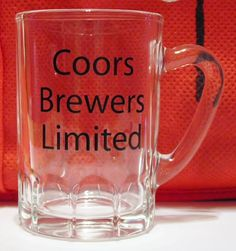 Shot Glass Coors Beer Brewers Limited Mug Double Shot Vintage French in Collectibles | eBay