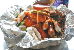 Drizzle Progresso Creamy Tomato Basil over Packets Chicken In Foil, Chicken Foil Packets, Grilled Tomatoes, Roasted Tomatoes, Rotisserie Chicken, Grilled Chicken, Stuffed Mushrooms, Tomato Basil Soup