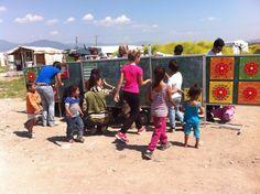 Σε κοινότητες Ρομά