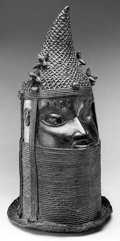 Edo Uhunmwun Elao (Iyoba Ancestral Memorial Head) Benin, Nigeria http://www.imodara.com/post/97994172539/nigeria-edo-uhunmwun-elao-iyoba-ancestral-memorial