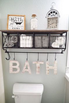 51 Unique Diy Home Decor Ideas For Your Wall Shelf With Baskets Bathroom